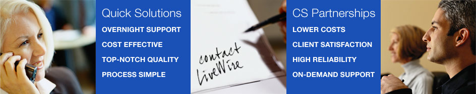 Benefits of Partnering With LiveWire Creative Services