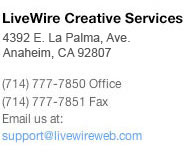 Contact LiveWire