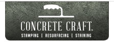 Concrete Craft Logo Tab